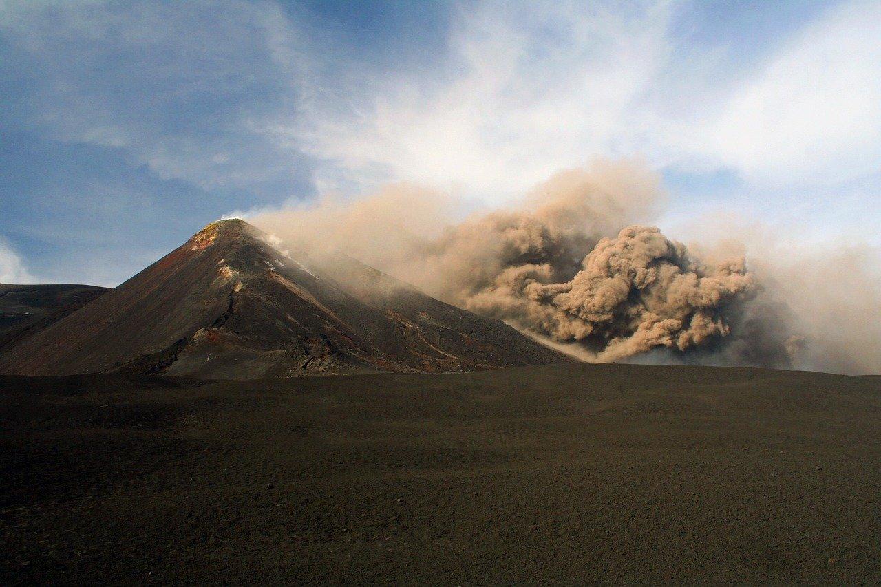 Volcano Mount Etna