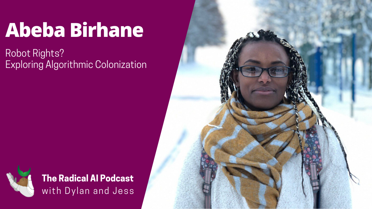 Radical AI podcast: featuring Abeba Birhane
