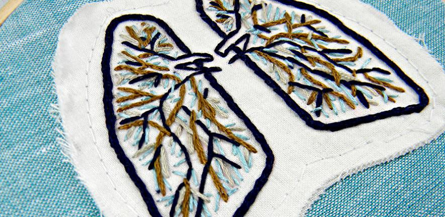 embroided lungs
