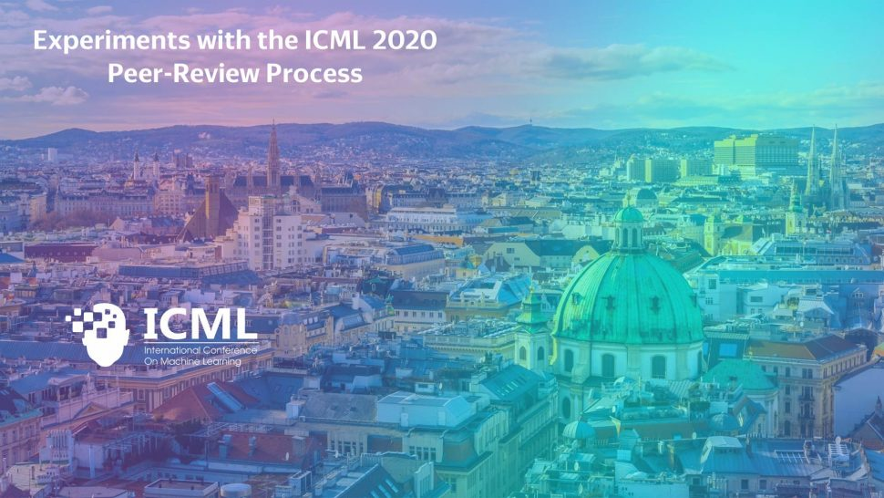 Photo of Vienna with ICML logo
