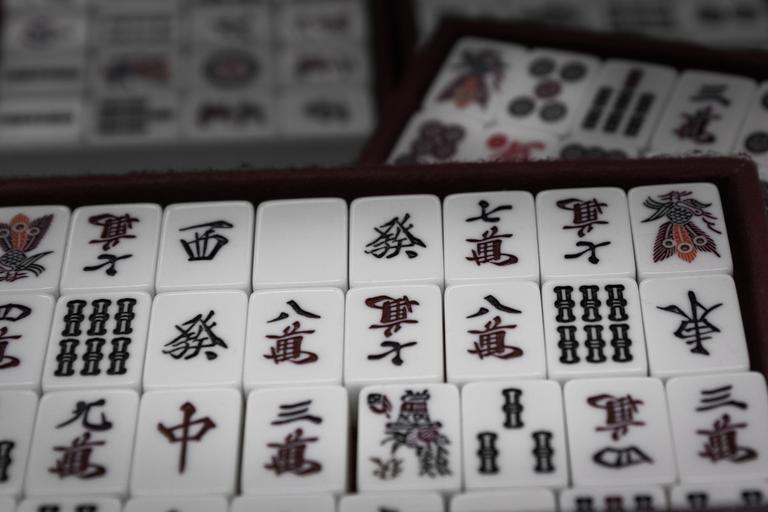 Mahjong pieces
