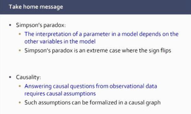 simpson's paradox and causality