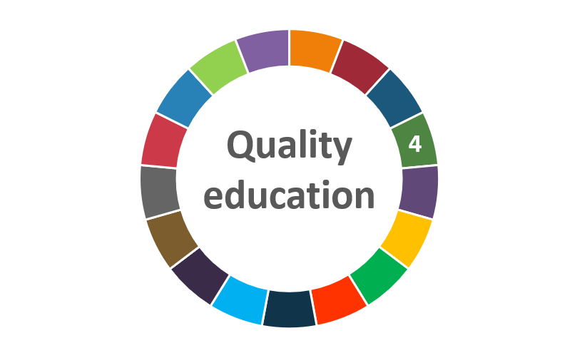 quality education focus series badge