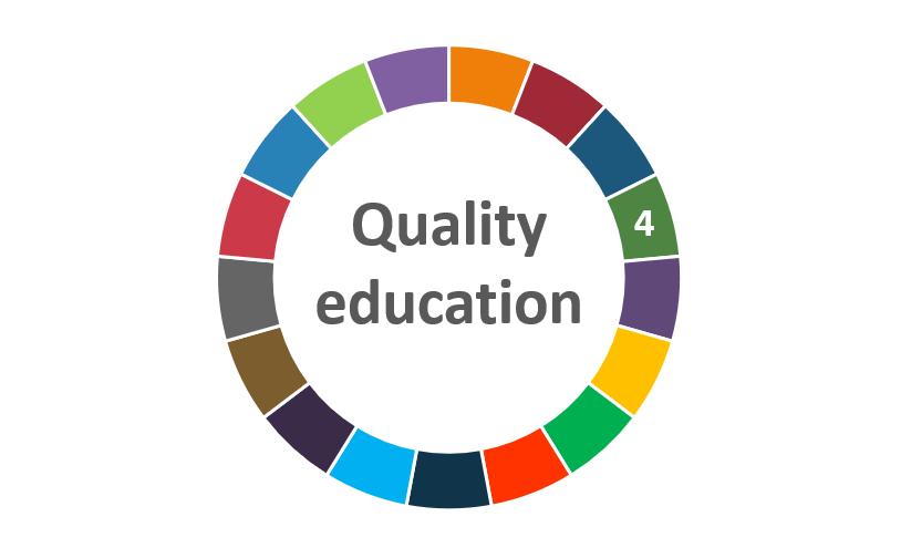 quality education focus series badge