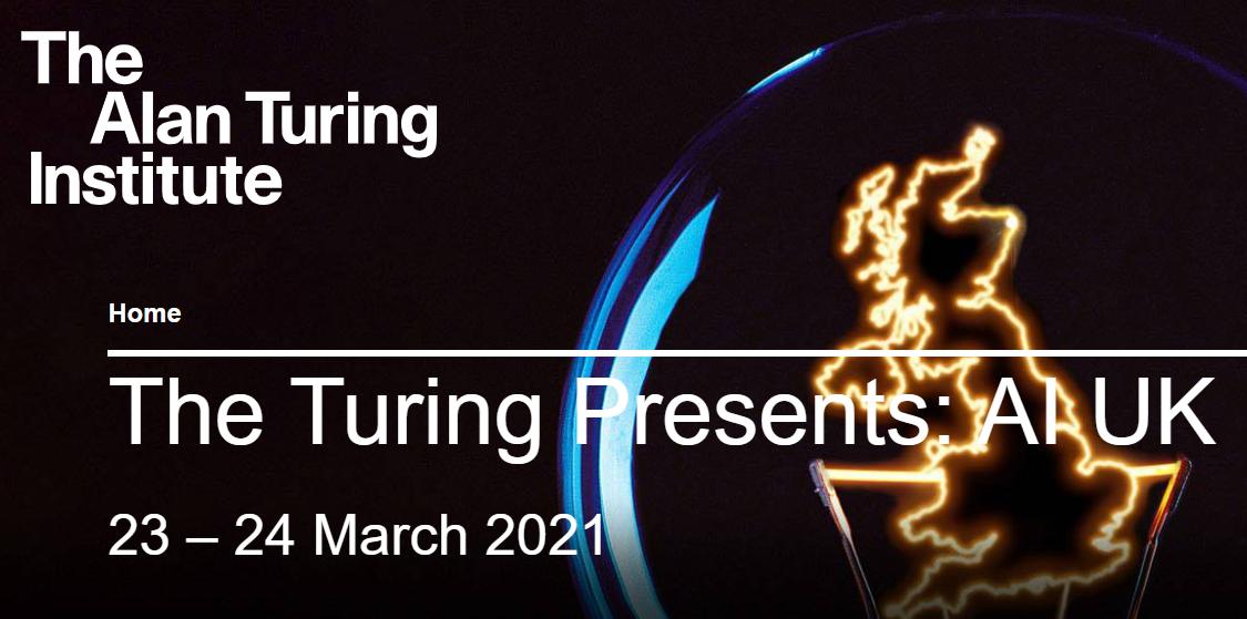 AI UK Turing event
