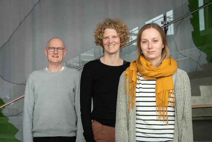 Arne Jonsson, Asa Elwer and Evelina Rennes