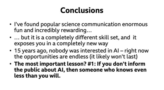 Wooldridge EAAI talk conclusions