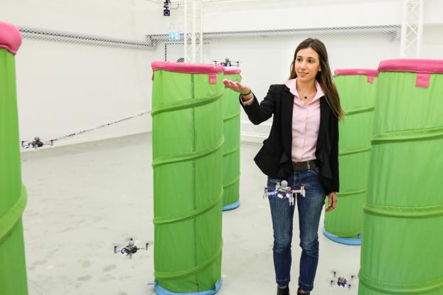 Enrica Soria, a PhD student at LIS © Alain Herzog / 2021 EPFL