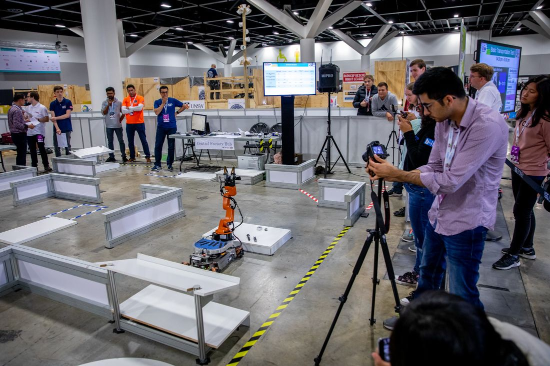 RoboCup at Work course