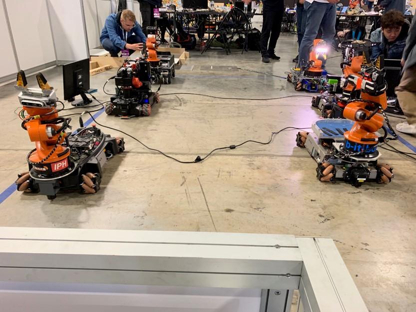 RoboCup at Work robots