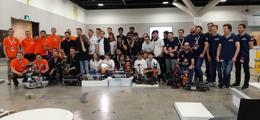 RoboCup at Work teams