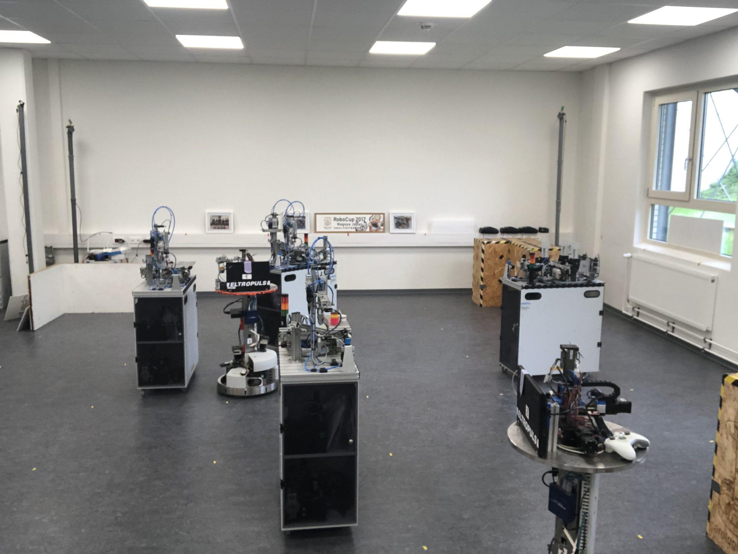 Virtual RCLL 2021 set-up