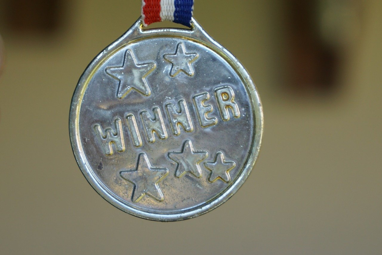 winners' medal
