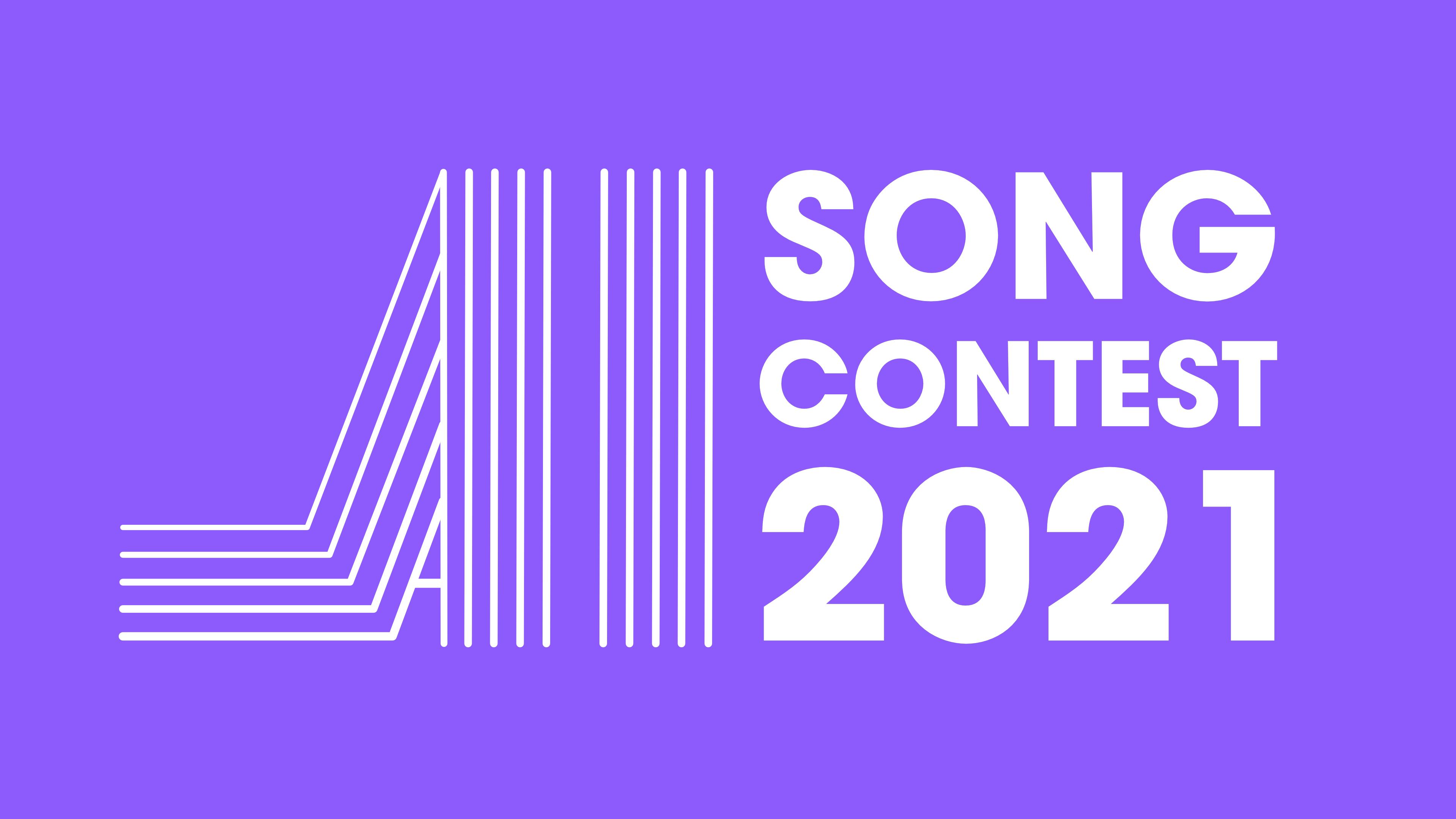 AI song contest logo