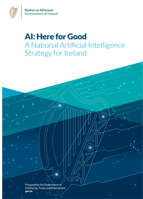 Ireland national AI strategy cover page
