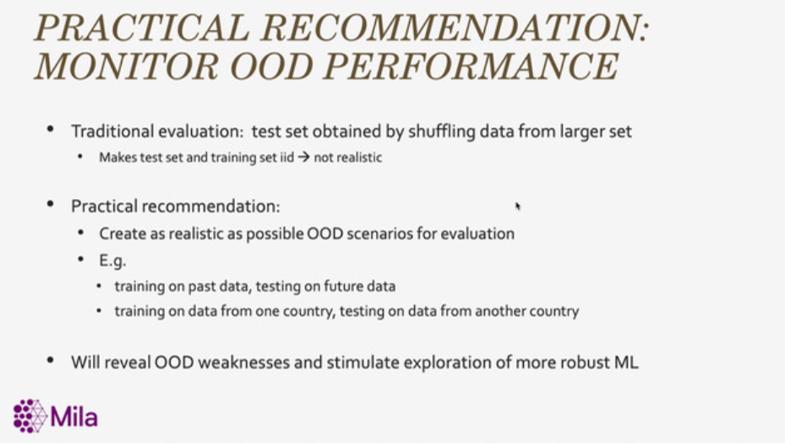 OOD performance