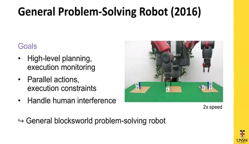 problem solving robot