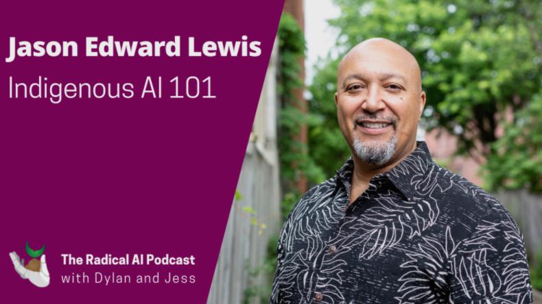 Jason Edward Lewis radical AI