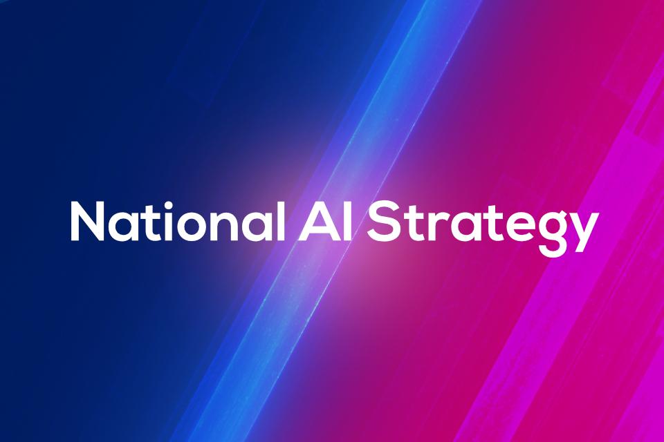UK National AI strategy