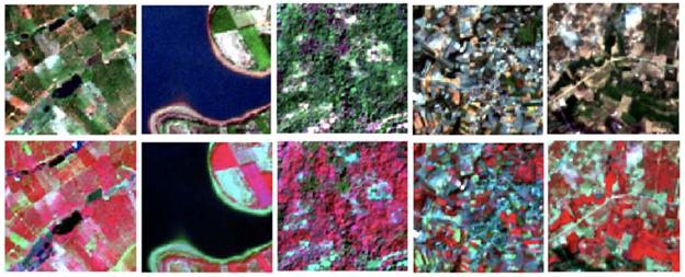 land use satellite images